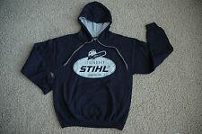 "STIHL Officially Licensed Apparel Navy Blue ""Legendary"" Hooded Sweatshirt"