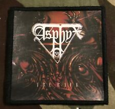 Asphyx The Rack Printed Patch A034P Hail Of Bullets Bolt Thrower Pestilence