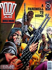 2000AD Classic Comic Book Number 705 17th November 1990 Harlem Heroes Edition