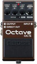 Boss Oc-5 Octave Octaver Pedal Oc5