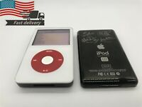 Apple iPod classic 5th Generation U2 Special Edition White/Red Turntable (30GB)
