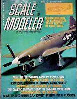 Vtg Scale Modeler Magazine December 1974 Scratchbuilding The XP-47H Fighter m108