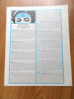 1969 Article Photo Ad  Horoscopes for Travelers by Sybil Leek