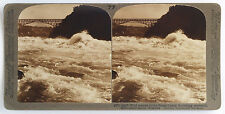 Underwood Stereoview the Whirlpool Rapids, Niagara Falls 1900's USA 100 Card Set