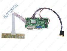 DVI VGA LCD Controller Board DIY Kit For N184H6-L02 1920x1080 40Pin LED Panel
