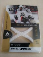 Wayne Simmonds 2017-18 SP Game Used All Star Game Used Net Cord #25/35