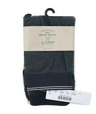 J.Crew Men's S - $22 - One-Pair Navy/Green Striped Cotton Stretch Boxer Briefs