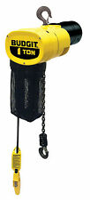 Budgit ManGuard BEHC 1/2 ton Electric Chain Hoist 20 ft. Lift 460-3-60
