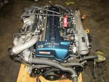 JDM Toyota Aristo Twin Turbo VVTi 2JZ GTE Front Sump Engine Motor Auto Trans ECU