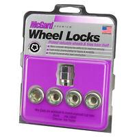 McGard Wheel Lock Nut Set - 4pk. (Under Hub Cap / Cone Seat) M12X1.5 / 19mm &
