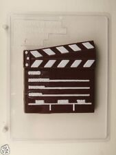 CLAPBOARD CLEAR PLASTIC CHOCOLATE CANDY MOLD LCA011