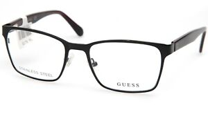 NEW GUESS GU 1961 005 Black EYEGLASSES GLASSES FRAME 52-18-145 B40mm