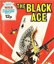 A Fleetway War Picture Library Pocket Comic Book Magazine #1451 BLACK ACE