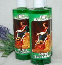 King Solomon Spiritual Water (1) 8oz Protection, Love, Dominate Hoodoo, Santeria