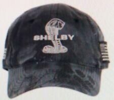 Shelby Super Snake Cobra Black Camo Hat Ford Mustang GT500 GT350 Terlingua SVT
