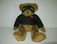 "VERMONT TEDDY BEAR ""THE COMPLETE COMPANION"" LOVE BANDIT HANDMADE IN VERMONT"