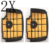 Fit Stihl MS201 MS201T MS201TC 1145 140 4400 Air Filter Cleaner Chainsaw 2pcs