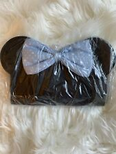 Adorable Minnie Mouse Blue Bow Wallet Brand New In Packaging