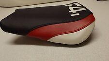 HONDA 01/03 CBR600 F4i FRONT SEAT COVER BLACK/RED/WHITe