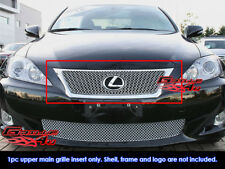Fits Lexus IS 250/IS 350 Stainless Steel X Mesh Grille Insert-Fits 2009-2010