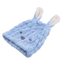 Cute Rabbit Ear Hair Bath Wrap Turban Hat Water Absorption Towel for Ladies BS