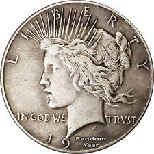 Random Year 1927-1935 $1 Peace Silver Dollar Average Circulated