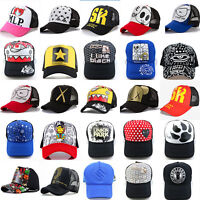 NEW Women Men Fashion Mesh Hat Cap Trucker Snapback adjustable Baseball