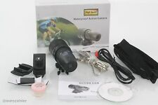 Action Camera Wasserdicht  IP 68 1,3 Mio Pixel CMOS SD/SDHC nur 120g