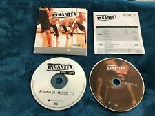 BEACHBODY Insanity Pro Team Instructor CD & DVD w Choreography Notes Round 11