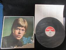 David Bowie ST First Japan Vinyl LP 73 Label Part Has Promo Stamp POOR Slv Deram