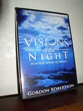 CBN:Visions of the Night-How God Speaks in Dreams by Gordon Robertson (DVD,2014)