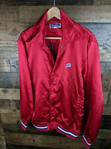 Vintage Mizuno World Win Satin Cuba Baseball Jaclet Coachs Jacket Sz M RARE 986