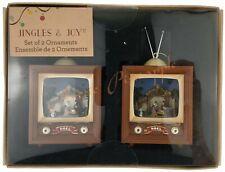 Jingles & Joy Holiday Decor Seasonal Christmas Noel Nativity Scent TV Ornaments