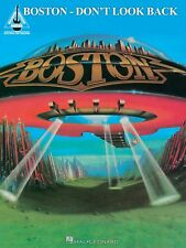 BOSTON DON'T LOOK BACK GUITAR TAB SHEET MUSIC SONG BOOK