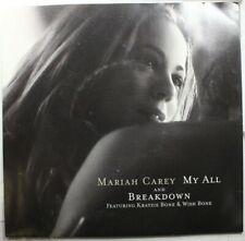 Soul Picture Sleeve 45 Mariah Carey - My All / Breakdown On Columbia