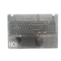 US Laptop Keyboard for SAMSUNG NP800G5M 8500GM black Palmrest Cover Backlight