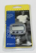 SPORTLINE Electronic Pedometer Walking Jogging Step Count & Distance Tracker