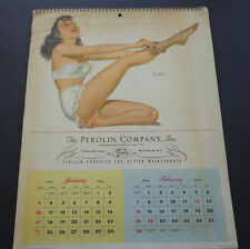 Esquire Calendar 1954 promo w/Chiriaka pin-ups INV2510