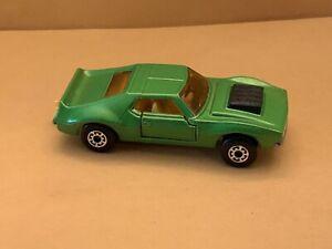 Matchbox Superfast No. 9 AMX Javelin Dark Metallic Green Body Crown Wheels