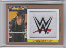 2016 Topps Heritage WWE Commemorative All-Star Patch Bronze /99 Undertaker