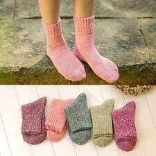New 5 Lot pairs lady Women #L Comfort ANGORA Rabbit WOOL Socks Soft Warm Fashion