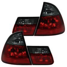 Rückleuchten Klarglas Heckleuchten BMW E46 Touring Bj. 99-05 Rot/Schwarz