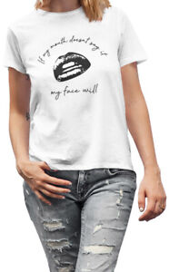 If My Mouth Doesnt Say It Funny Slogan New Unisex T-shirt