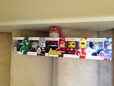 AVENGERS MIGHTY MINI MUGGS SET 2011 SDCC EXCLUSIVE HASBRO Thor, Hulk, Giant Man