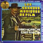 """East - LES GRANDES MUSIQUES DE Film - Ennio Morricone 12 """" 2 LP (Q775)"""