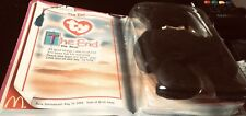 The End Black The Bear Ty Beanie Babies McDonald's Vintage Rare Collect!