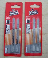 Vermont American 2 packs Jig Saw Blades VU101B (4 blades)Ryobi,Skil BlackDeckr