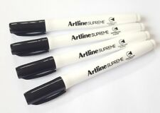 Artline Whiteboard Pens for children ** 4 x Black Pens **