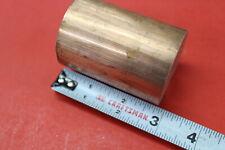 2 Diameter C110 Copper Round Rod 2 34 Long H04 Solid Cu New Lathe Bar Stock
