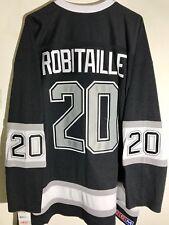 Reebok Premier NHL Jersey Los Angeles Kings Luc Robitaille Black Alt sz M